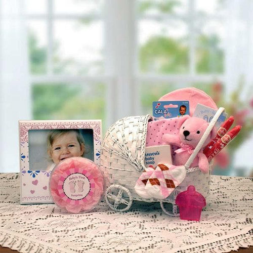 Bundle of Joy Baby Gift Basket - Pink