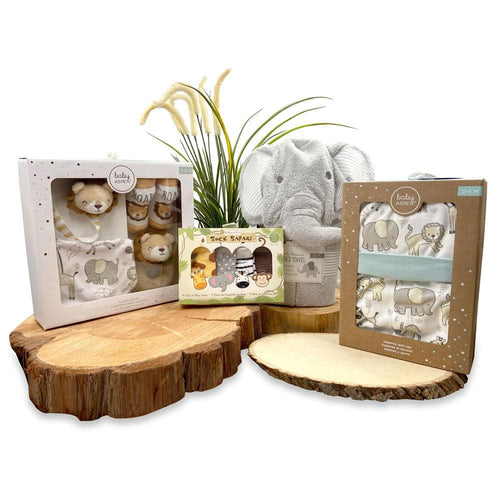 Animal Safari 11-Piece Gift Set Bundle