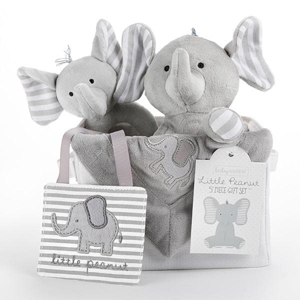 Little Peanut Elephant 5-Piece Gift Set