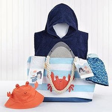 Load image into Gallery viewer, Shark 4-Piece Beach Gift Set with Canvas Tote for Mom