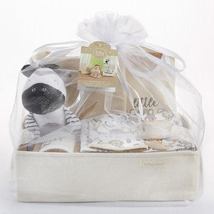 Safari 9-Piece Baby Gift Basket (Personalization Available)