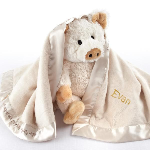 Pig in a Blanket 2-Piece Gift Set (Available Personalized)
