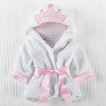 Load image into Gallery viewer, Little Princess Hooded Spa Robe (Personalization Available)