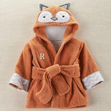 Load image into Gallery viewer, Rub-a-dub, Fox in the Tub Hooded Spa Robe (Personalization Available)