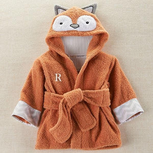 Rub-a-dub, Fox in the Tub Hooded Spa Robe (Personalization Available)