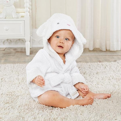 Love You Lamb Hooded Spa Robe (Personalization Available)
