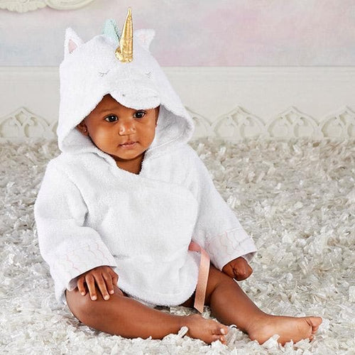 Simply Enchanted Unicorn Hooded Spa Robe (Personalization Available)