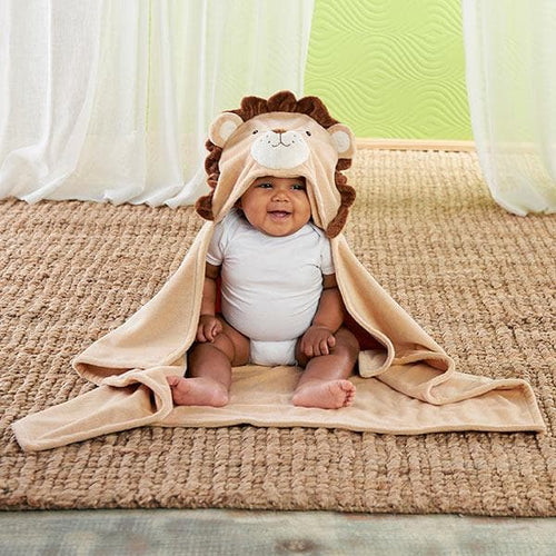 Lion Hooded Blanket
