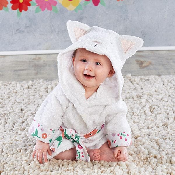 Cat Hooded Robe (Personalization Available)