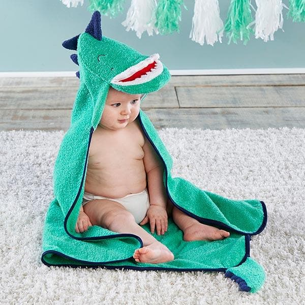 Dino Baby T-Rex Hooded Towel