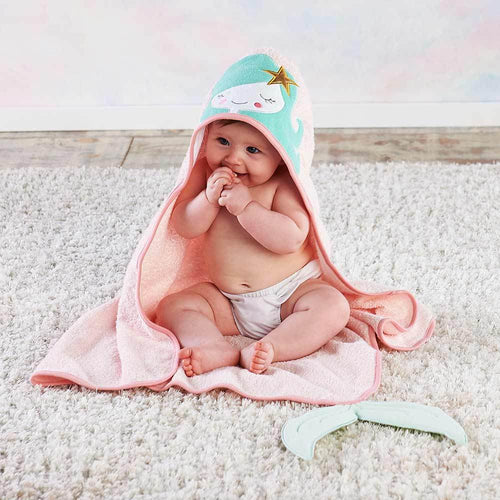 Simply Enchanted Mermaid Hooded Towel
