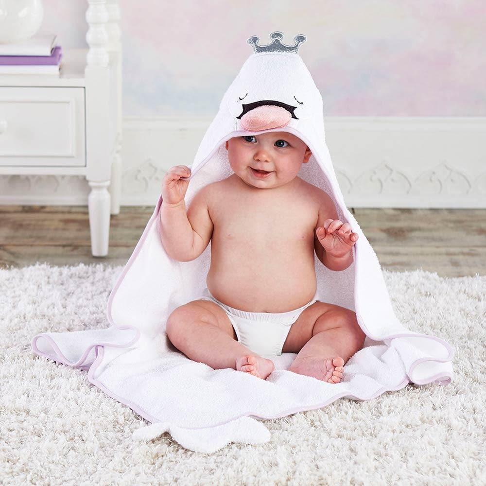 Swan Princess Hooded Towel