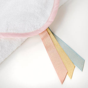 Simply Enchanted Unicorn Hooded Towel