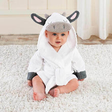 Load image into Gallery viewer, Cow Hooded Robe (Personalization Available)