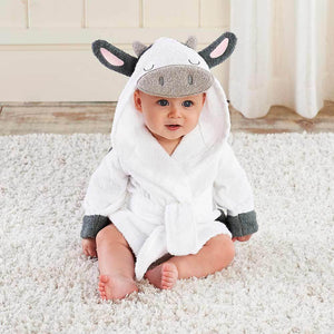 Cow Hooded Robe (Personalization Available)