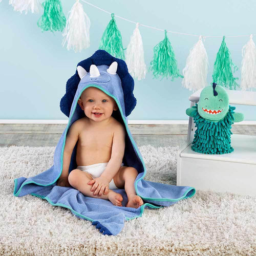 Dinosaur 2-Piece Bath Gift Set