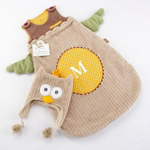 Load image into Gallery viewer, My Little Night Owl Snuggle Sack and Cap (Personalization Available)