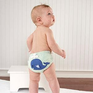 Beach Bums 3-Piece Diaper Cover Gift Set (0-6 or 6-12 Months)