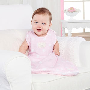 Sweet Snuggles Muslin Wearable Blanket (Pink)