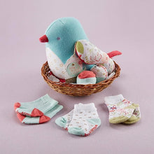 Load image into Gallery viewer, Bitsy Bluebird Plush Plus Bird with Socks for Baby