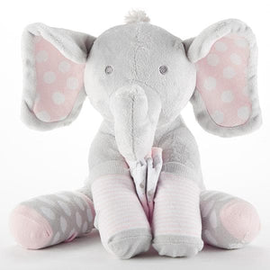 Lilly the Elephant Plush Plus Socks for Baby