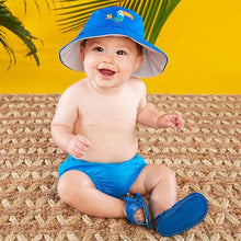 Load image into Gallery viewer, Tropical Beach Hat and Flip Flop Gift Set