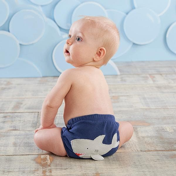 Under The Sea 3-Piece Diaper Cover Gift Set - Boy