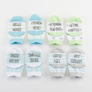 Silly Soles 4-Pair Sock Set - Boy
