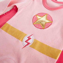 Load image into Gallery viewer, Big Dreamzzz Baby Superhero 2-Piece Layette Set - Girl (Personalization Available)