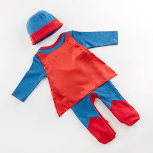 Big Dreamzzz Baby Superhero 2-Piece Layette Set - Boy (Personalization Available)