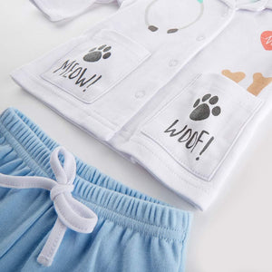 Big Dreamzzz Baby Veterinarian 2-Piece Layette Set (Personalization Available)