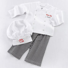 Load image into Gallery viewer, Big Dreamzzz Baby Chef 3-Piece Layette Set (Personalization Available)