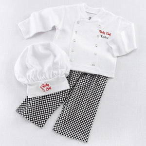 Big Dreamzzz Baby Chef 3-Piece Layette Set (Personalization Available)