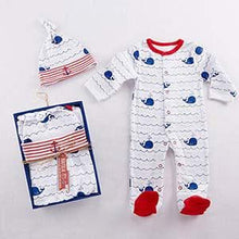 Load image into Gallery viewer, Nautical PJ's Gift Set