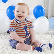 Load image into Gallery viewer, My First Birthday 3 Piece Dapper Dude Outfit