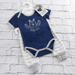 Trendy Baby Bear Hug 2-Piece Outfit