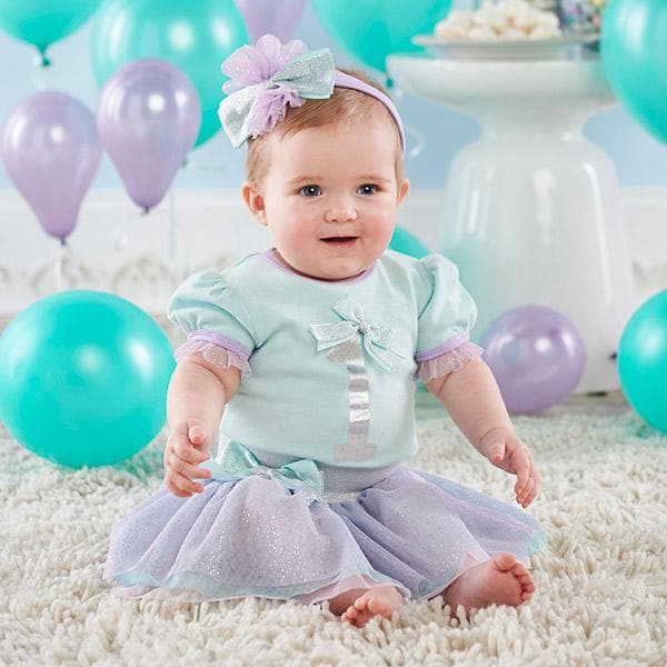My First Birthday 3-Piece Party Outfit with Tutu (12-18 mos)