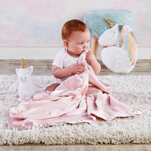 Unicorn Plush Plus Blanket for Baby (Personalization Available)