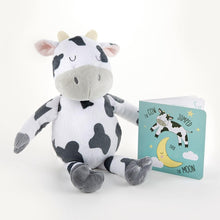 Load image into Gallery viewer, Colby the Cow Plush Plus Book for Baby
