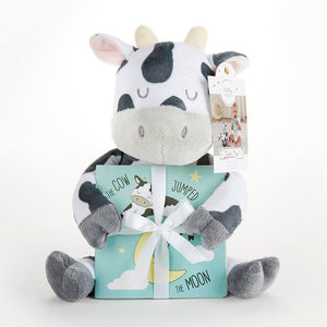 Colby the Cow Plush Plus Book for Baby