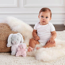 Load image into Gallery viewer, Luxury Baby Bunny Plush Plus Rattle for Baby