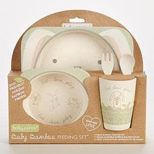Load image into Gallery viewer, Natural Baby Bamboo Bunny 5-Piece Feeding Set