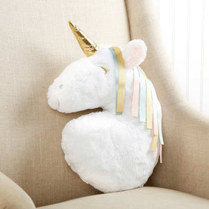 Simply Enchanted Decorative Unicorn Pillow