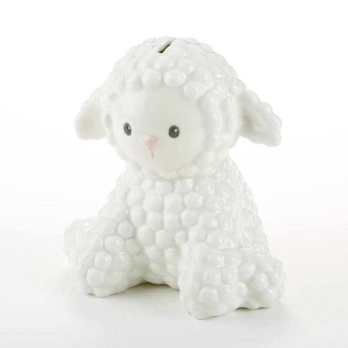 Lamb Porcelain Bank