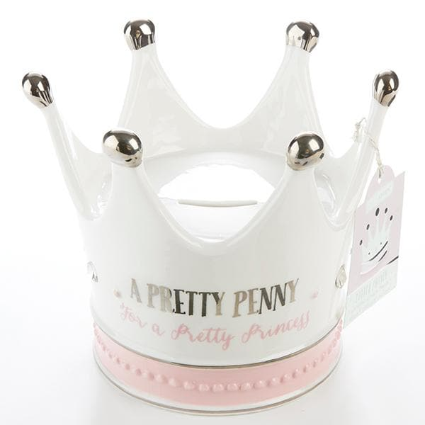 Little Princess Crown Porcelain Bank