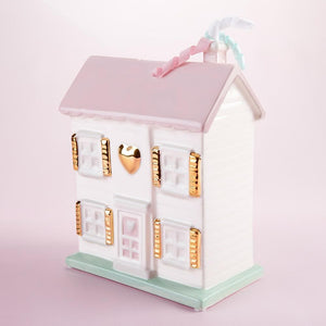 Dollhouse Porcelain Bank