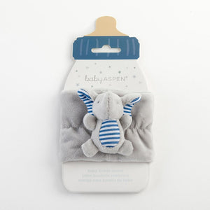 Little Peanut Elephant Bottle Buddy (Blue)