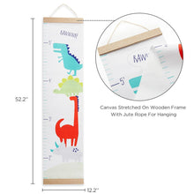 Load image into Gallery viewer, Dino Baby Hanging Growth Chart