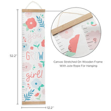 Load image into Gallery viewer, You Grow Girl Hanging Growth Chart