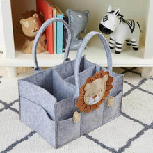 Load image into Gallery viewer, Lion Diaper Caddy Organizer (Personalization Available)